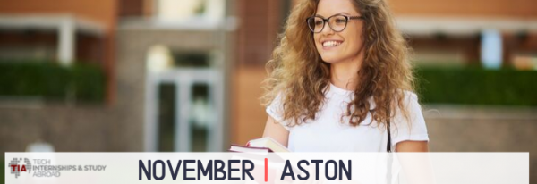 Tech Internships Aston November