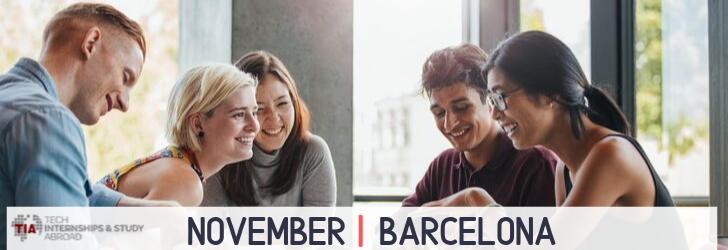 Tech Internships Barcelona November