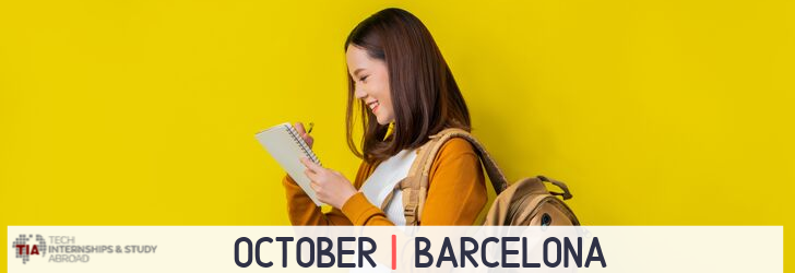 Tech Internships Barcelona October