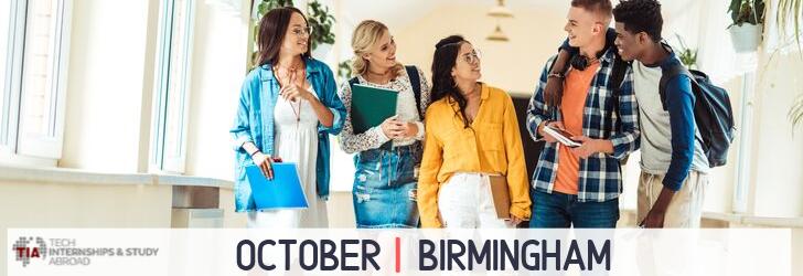 Tech Internships Birmingham October