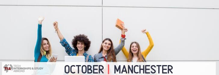 Tech Internships Manchester October
